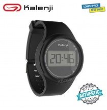 Kalenji W100 M Men's Sport Stopwatch Watch - Black