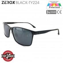 Zerox Top Quality Aluminium UV400 Polarized Sunglasses Men Women TY224 + Cloth + Casing