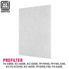 2 Unit AIRPRO for Sharp Air Purifier Replacement Pre-Filter