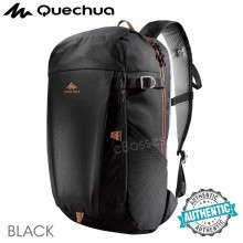 Quechua NH100 20 L Country Walking Hiking Backpack - Black, Beige, Brown, Purple, Khaki
