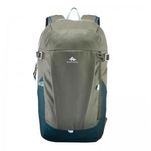 Quechua NH100 20 L Country Walking Hiking Backpack - Black, Beige, Brown, Purple, Khaki