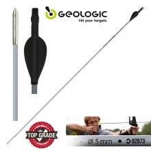 Geologic Discovery 100 Archery Arrow - Grey