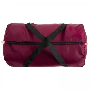 DOMYOS Fold-Down Fitness Cardio Training Bag 30L - Burgundy