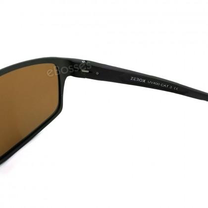 Zerox Top Quality Aluminium UV400 Polarized Sunglasses Men Women TY417+ Cloth + Casing