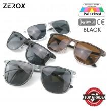 Zerox Top Quality Aluminium UV400 Polarized Sunglasses Men Women TY298 + Cloth + Casing