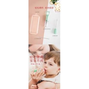Cute Baby Medicine Dispenser Silicone Material Pacifier Liquid Feeding Divice