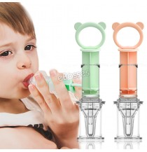 Cute Baby Medicine Dispenser Silicone Material Pacifier Liquid Feeding Divice